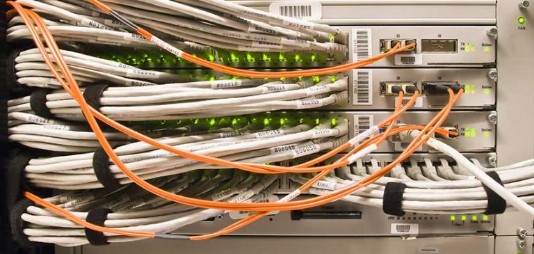 Horizontal and Vertical Cabling Management