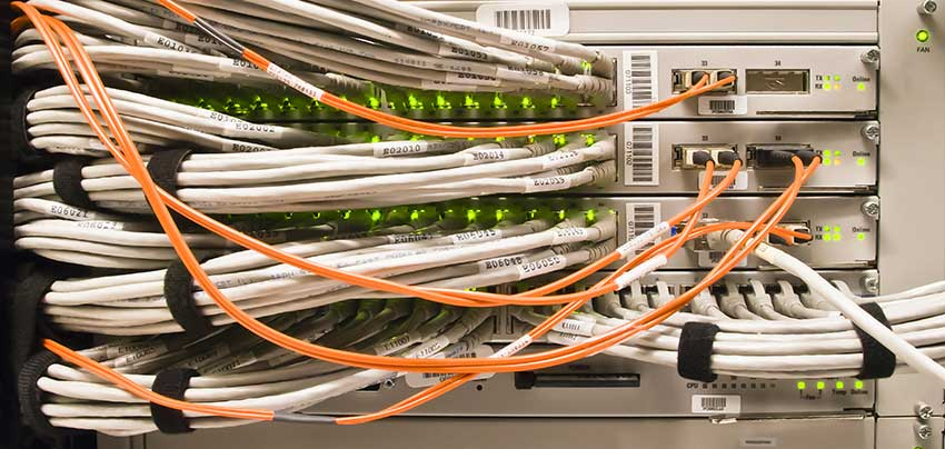 Horizontal And Vertical Cable Management Cablify Cabling