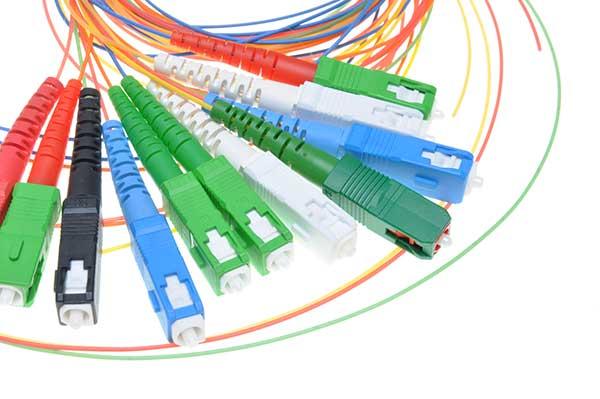 fiber optic types